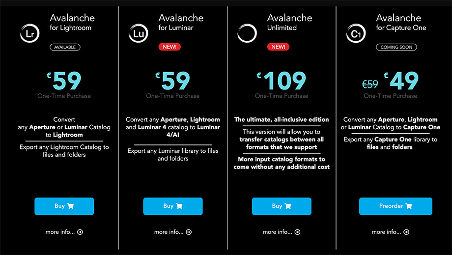 Avalanche5 - カタログ移動アプリ「Avalanche」レビュー|Luminar・Lightroom対応