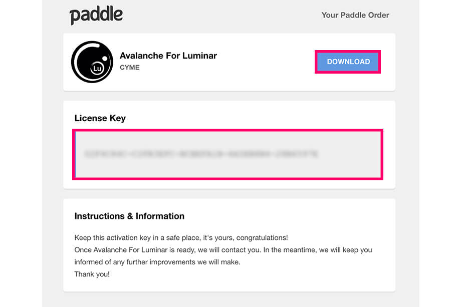 Avalanche9 - カタログ移動アプリ「Avalanche」レビュー|Luminar・Lightroom対応