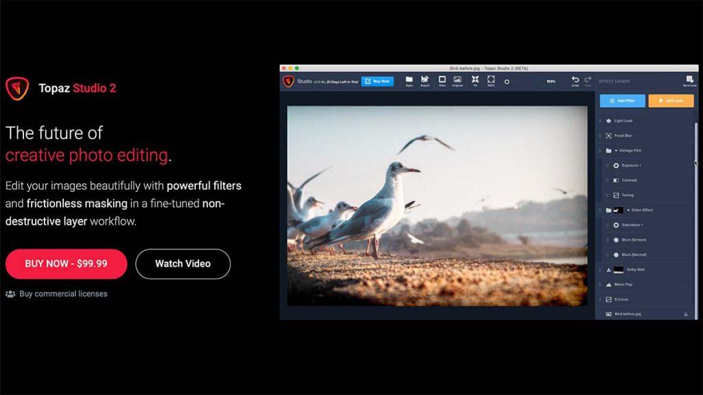 Studio 2 1024x576 - (クーポン付き)Topaz LABSの画像編集ソフトのラインナップや特徴、購入方法を解説