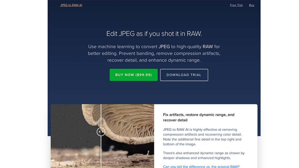 jpeg to raw 1024x576 - (クーポン付き)Topaz LABSの画像編集ソフトのラインナップや特徴、購入方法を解説