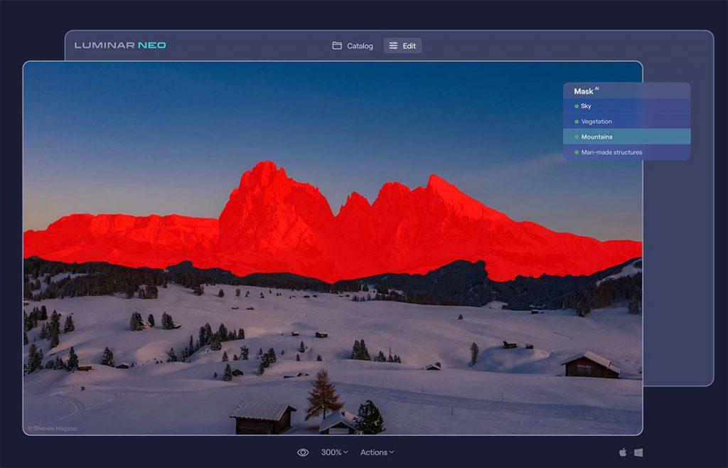 Mask AI 3 1024x658 - Luminar Neoとは|購入方法・新機能・最新情報をレビュー(先行予約開催中)