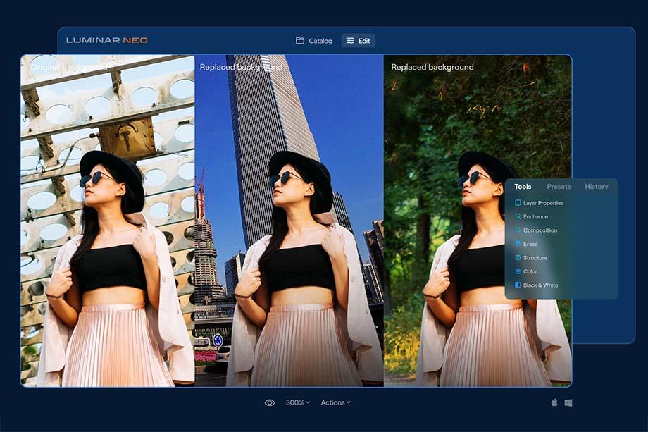 Portrait Background Removal AI 3 - Luminar Neoとは|購入方法・新機能・最新情報をレビュー(先行予約開催中)